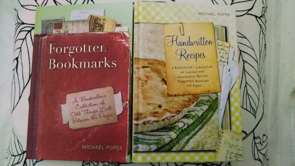 Forgotten Bookmarks and Handwritten Recipes by Michael Popek